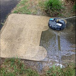 pressure washer surface cleaning