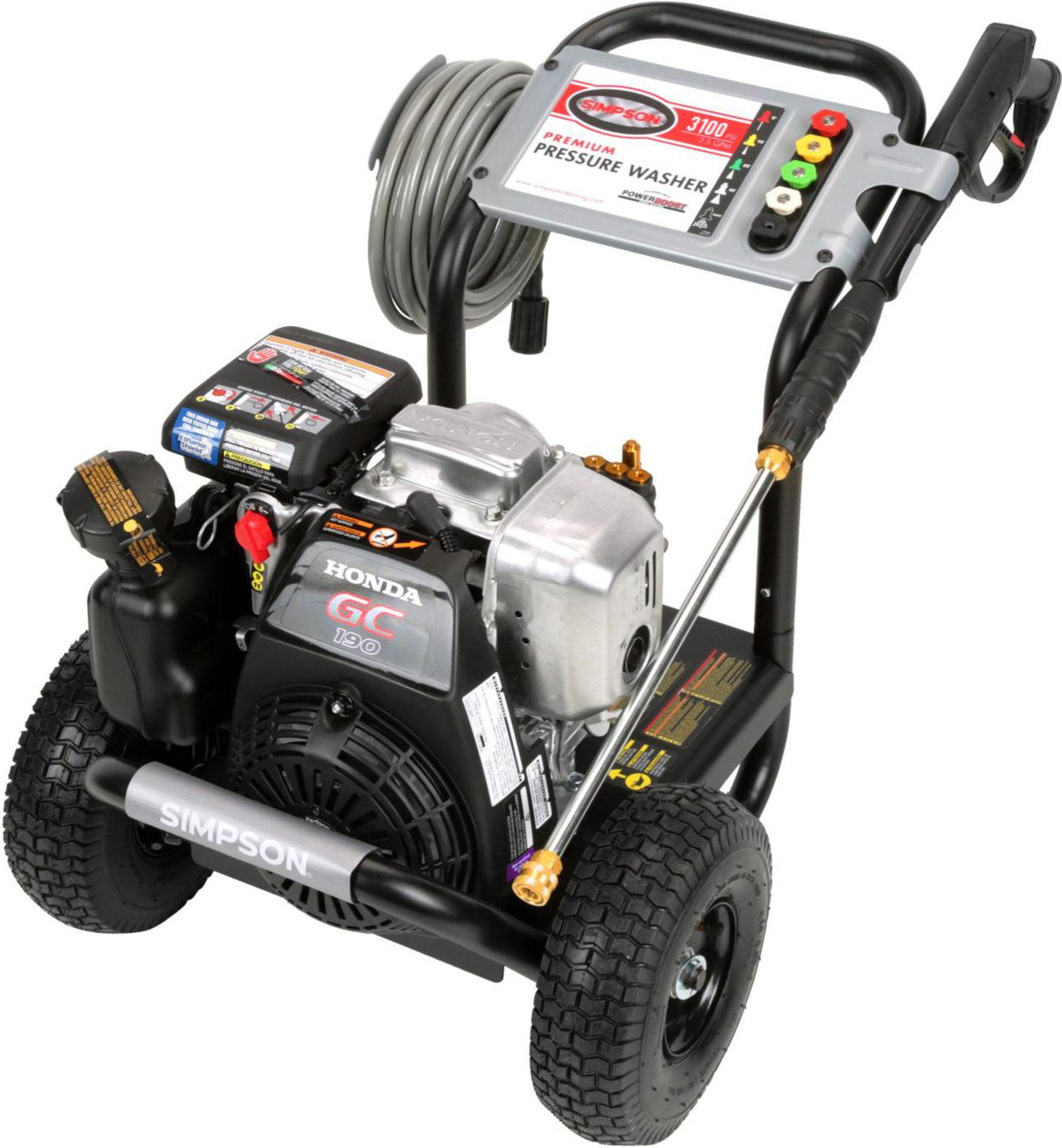 SIMPSON Cleaning MSH3125-S Pressure Washer Maintenance