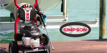 SIMPSON Cleaning MSH3125-S Pressure Washer Manufacturer