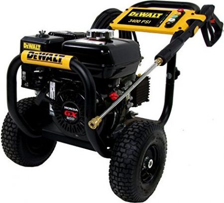 DeWalt Professional 3400 PSI Gas Pressure Washer