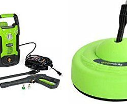 GreenWorks 1500 PSI 1.2 GPM Pressure Washer + Surface Cleaner