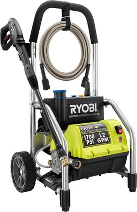how to use soap with ryobi pressure washer