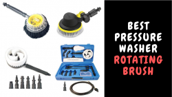 Best Pressure Washer Rotating Brush